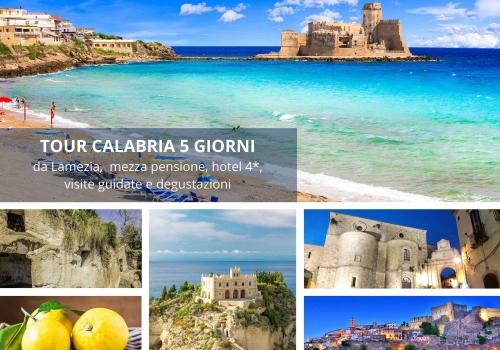 Tour della Calabria 5 giorni 4 notti da Lamezia
