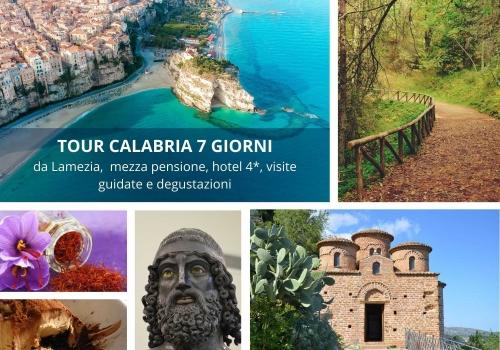 Tour Calabria 7 giorni 6 notti da Lamezia